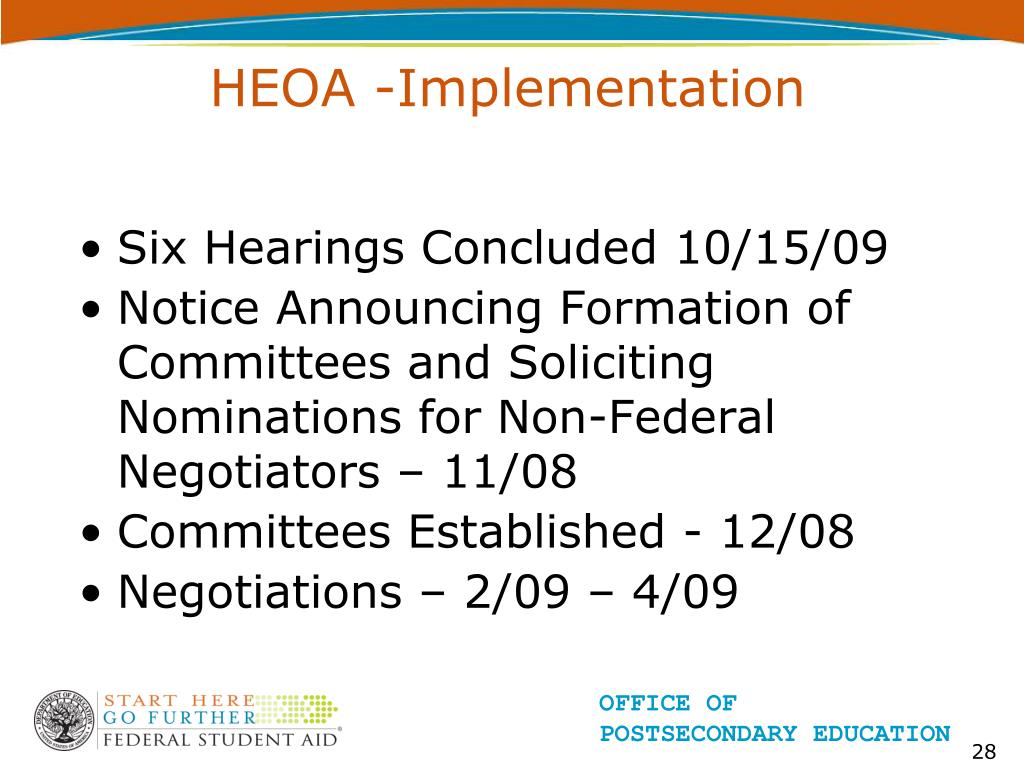HEOA -Implementation