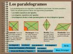 los paralelogramos
