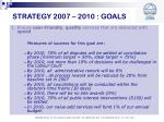 strategy 2007 2010 goals8