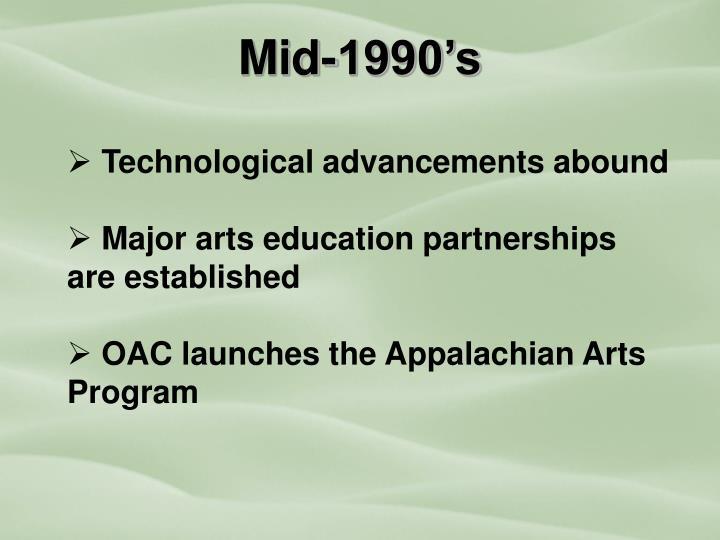 Mid-1990's