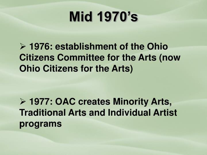 Mid 1970's
