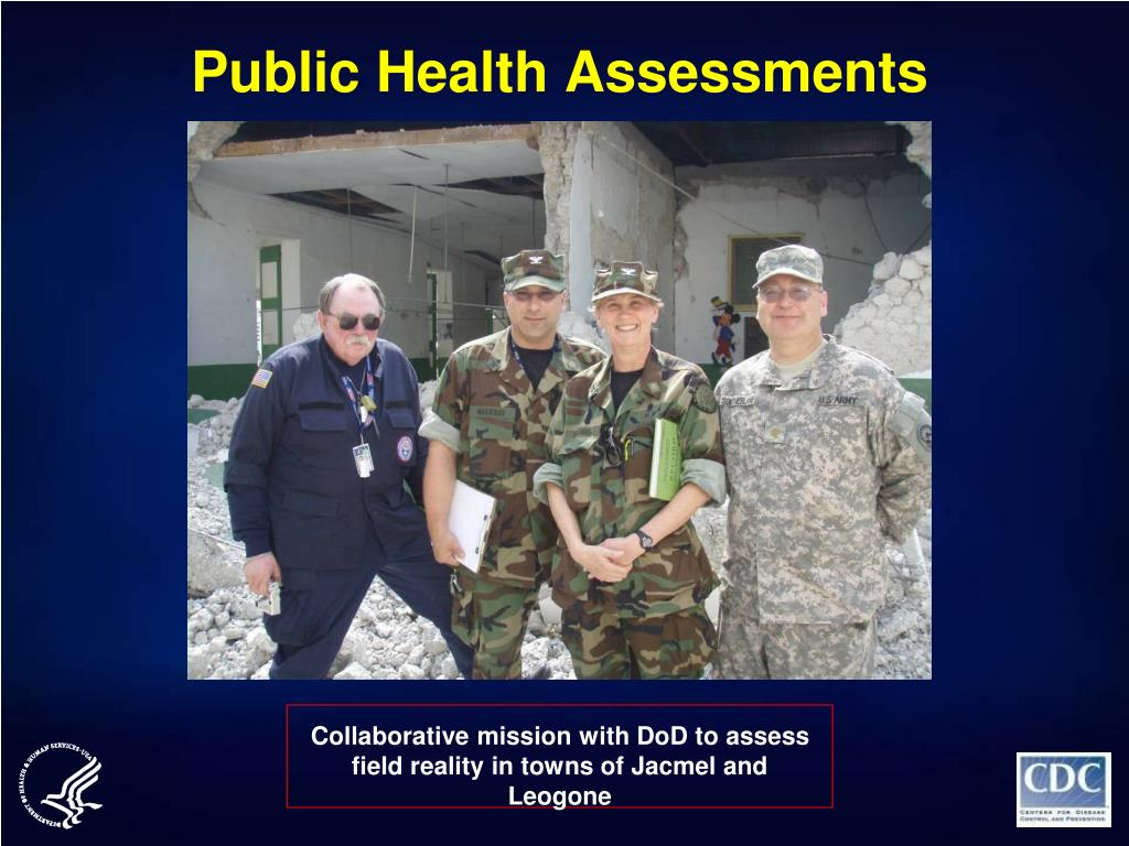 Public Health Assessments