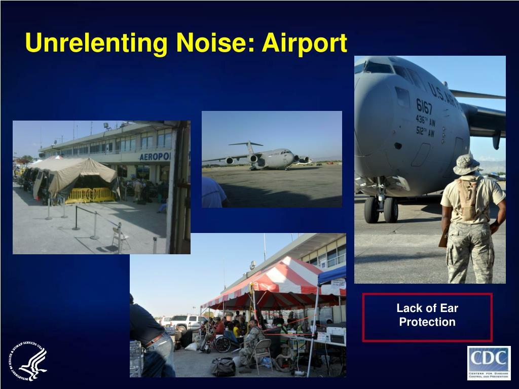 Unrelenting Noise: Airport