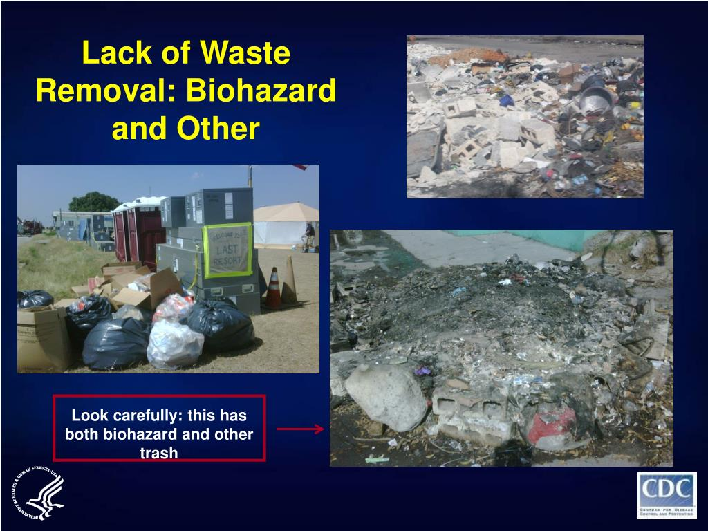 Lack of Waste Removal: Biohazard and Other