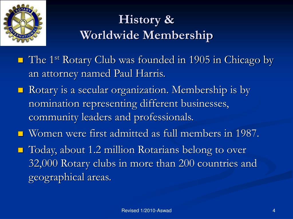 History &