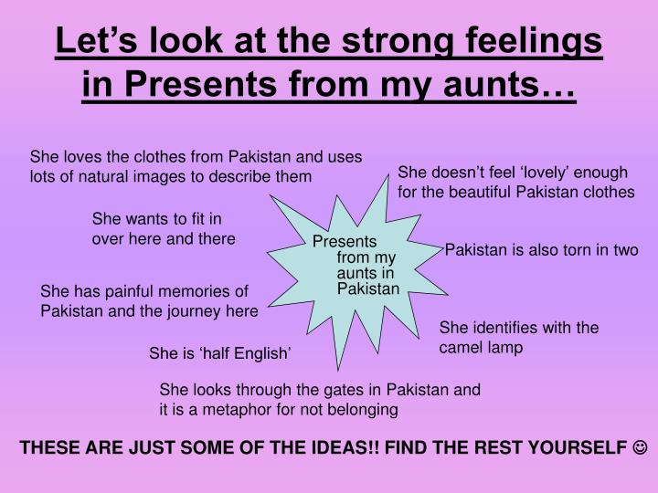 presents from aunts in pakistan