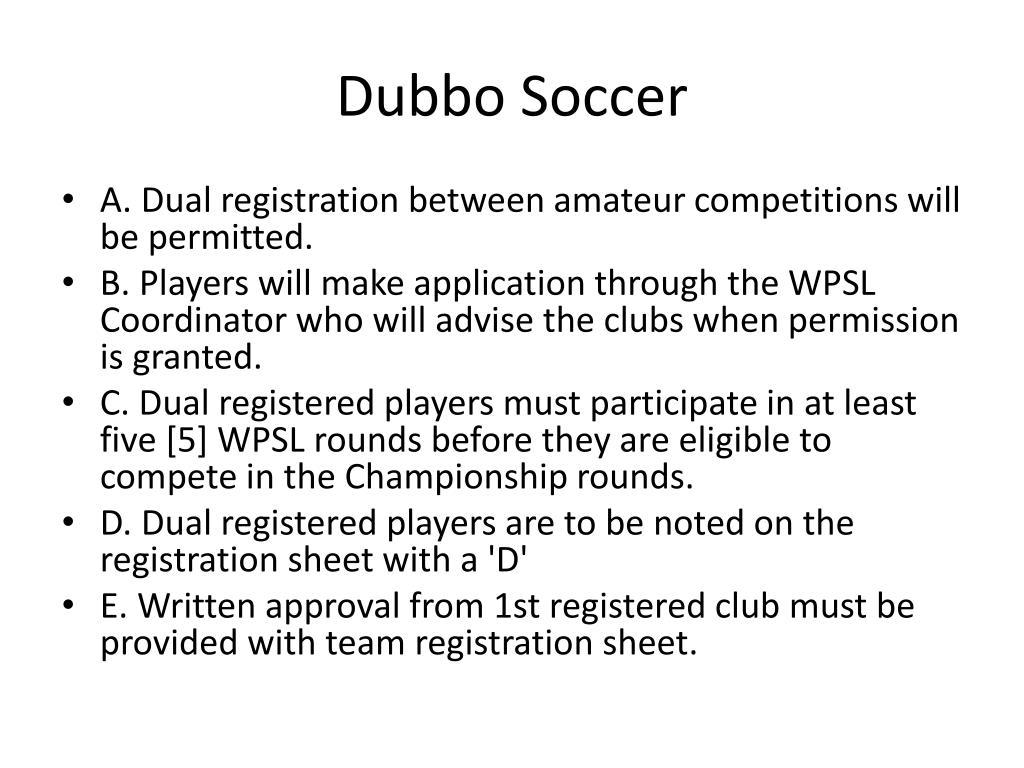 Dubbo Soccer