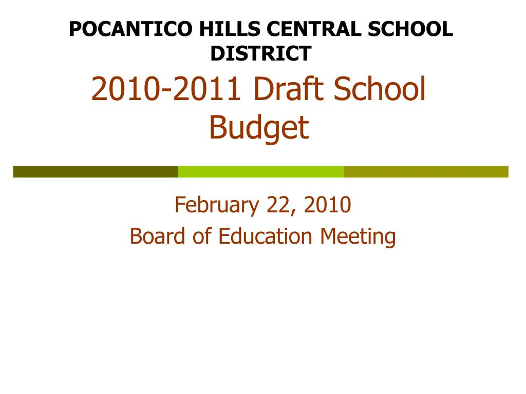 POCANTICO HILLS CENTRAL SCHOOL DISTRICT