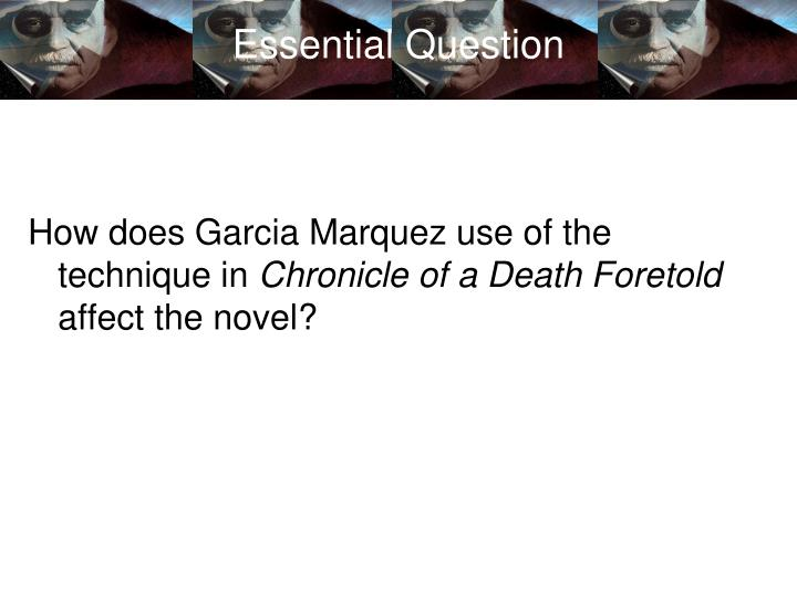 the effects of social expectations in chronicle of a death foretold by gabriel garcia marquez Chronicle of a death foretold further developed his reputation as political novelist, and he later wrote both fictionalized and nonfiction accounts of latin american history garcia marquez's works have won numerous awards, including the 1982 nobel prize for literature.