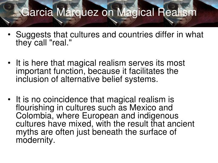 magical realism in chronicle of a death foretold essay Chronicle of a death foretold literature essays are academic essays for citation these papers were written primarily by students and provide critical analysis of.