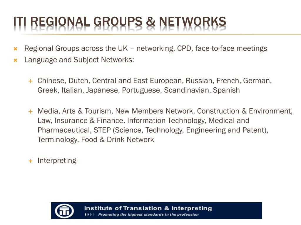 Regional Groups across the UK – networking, CPD, face-to-face meetings