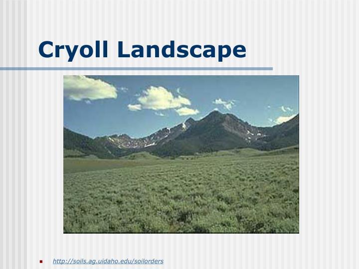 Cryoll Landscape