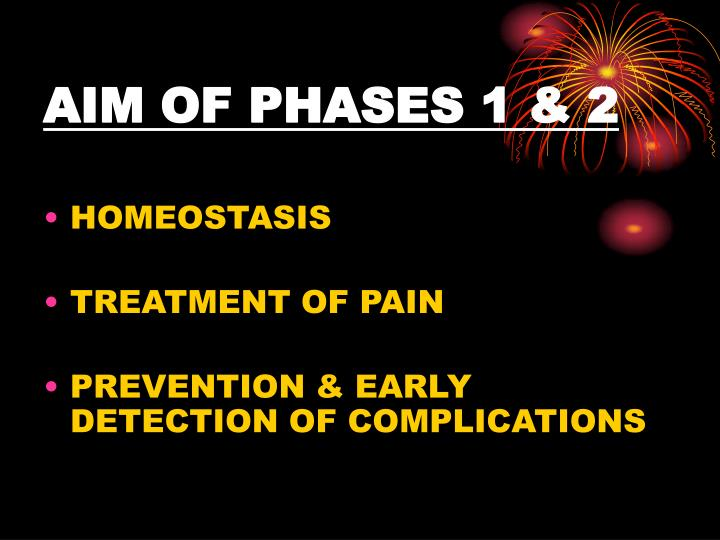 AIM OF PHASES 1 & 2
