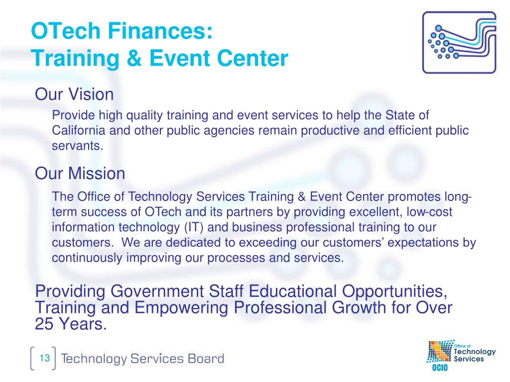 OTech Finances: