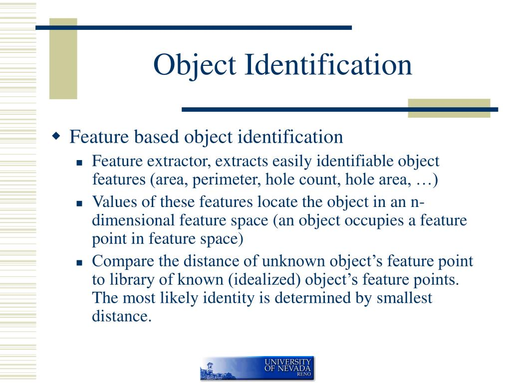 Object Identification