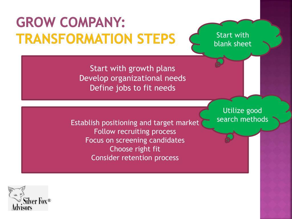 Grow Company: