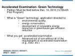 accelerated examination green technology19