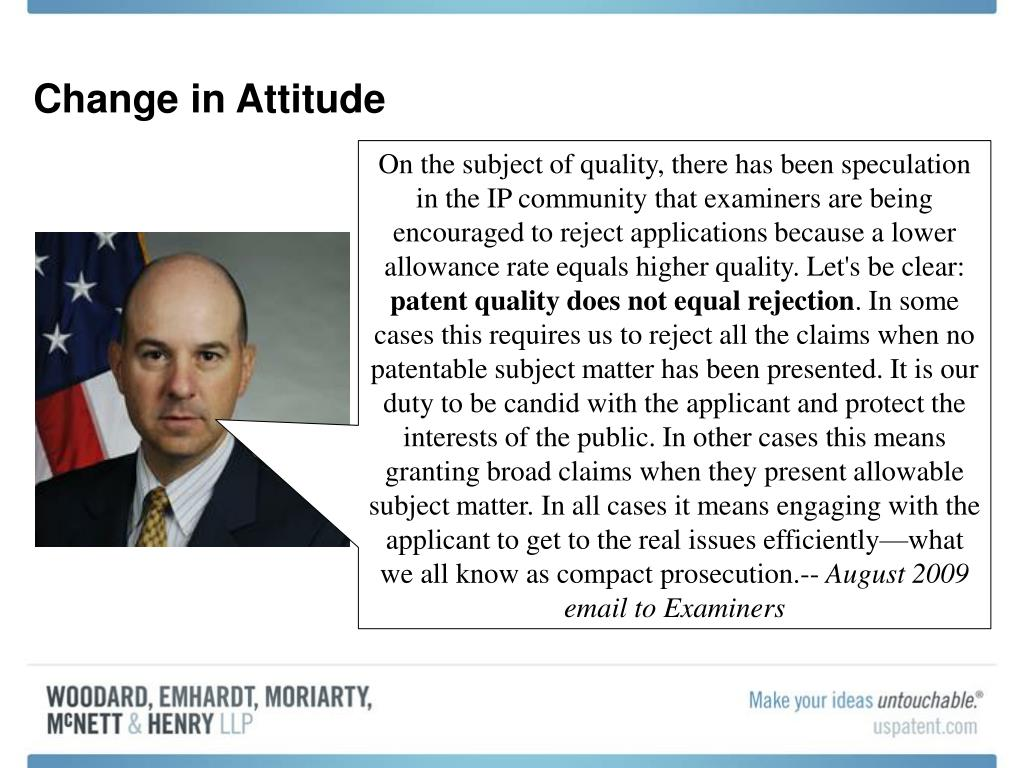 Change in Attitude