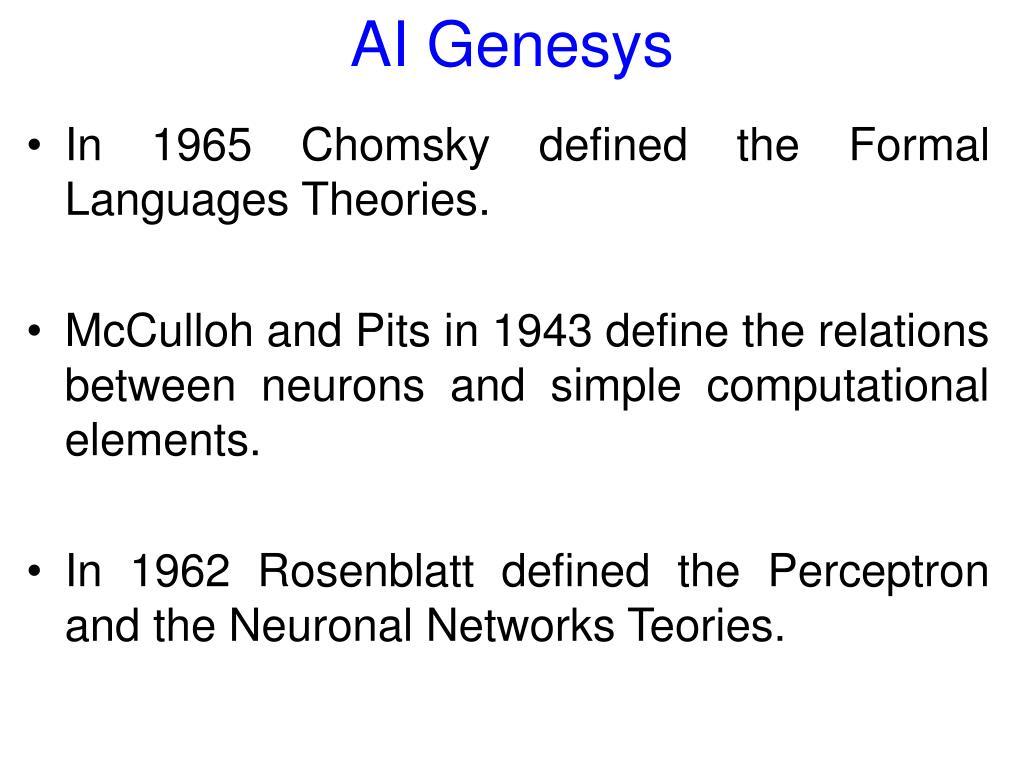 AI Genesys