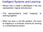 intelligent systems and learning35