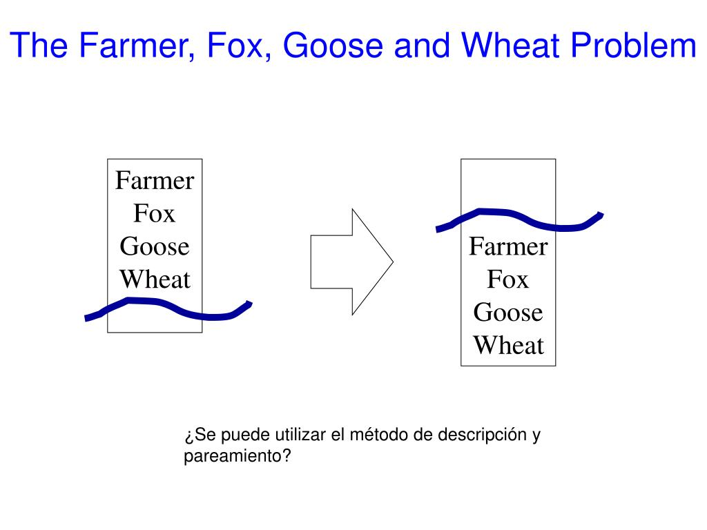 The Farmer, Fox, G