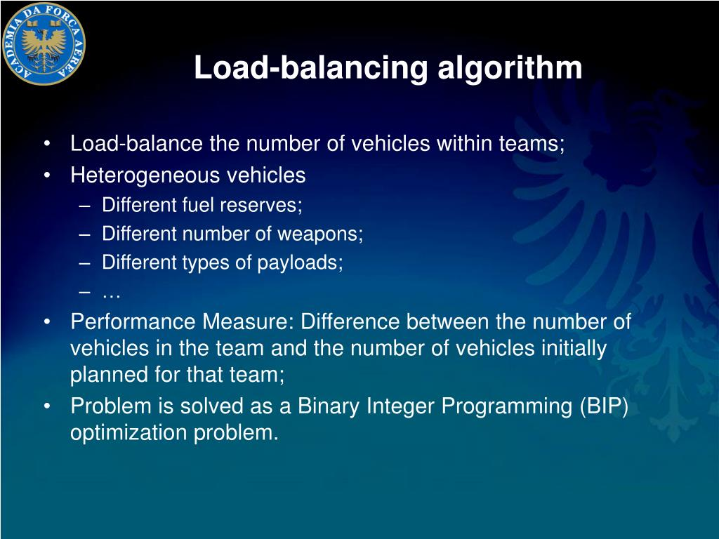 Load-balancing algorithm