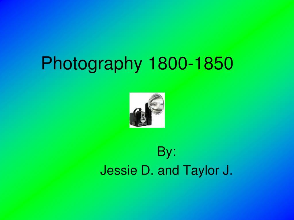 Photography 1800-1850