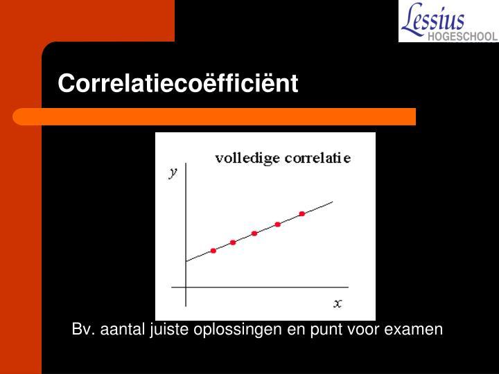 Correlatiecoëfficiënt