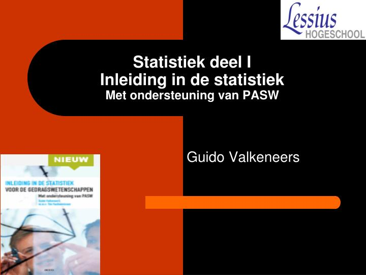 Statistiek deel I