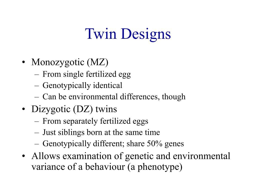 Twin Designs