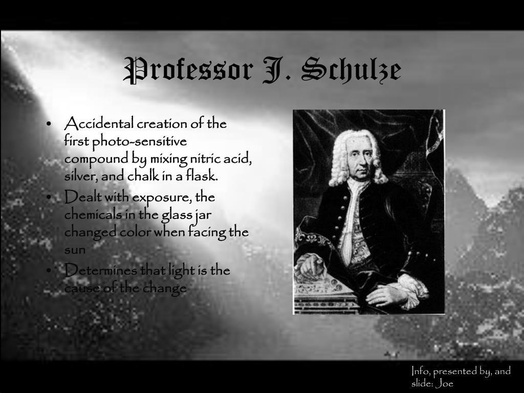 Professor J. Schulze