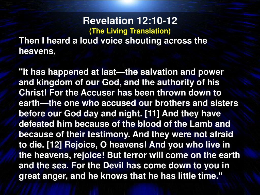 Revelation 12:10-12