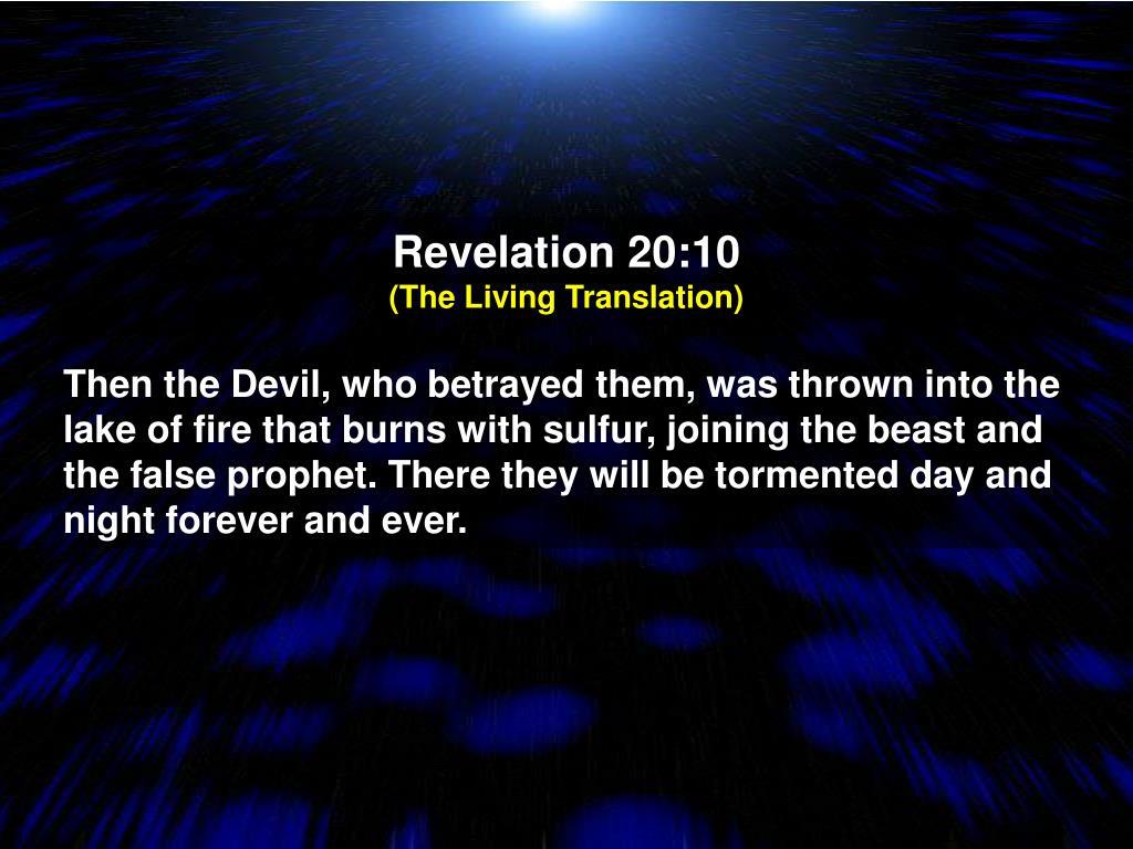 Revelation 20:10