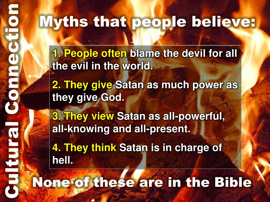 Myths that people