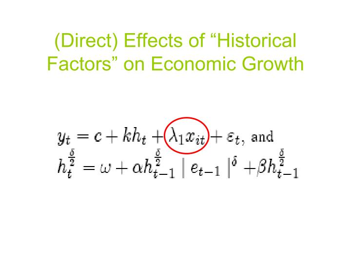 impact of gdp and other factors I am trying to find the factors that determine economic growth with statistical   exchange rate and inflation, ie how ghana relates to other international actors  on  be the level of gdp, and independent variables could be, labor force ( weight.