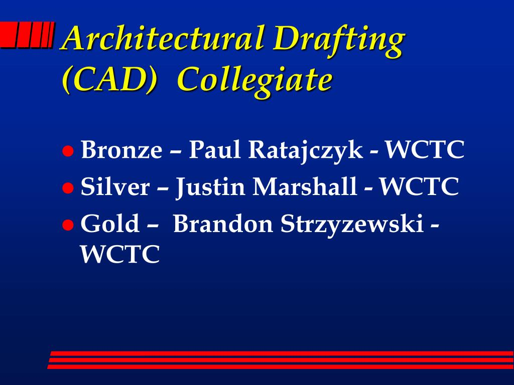 Architectural Drafting (CAD)  Collegiate