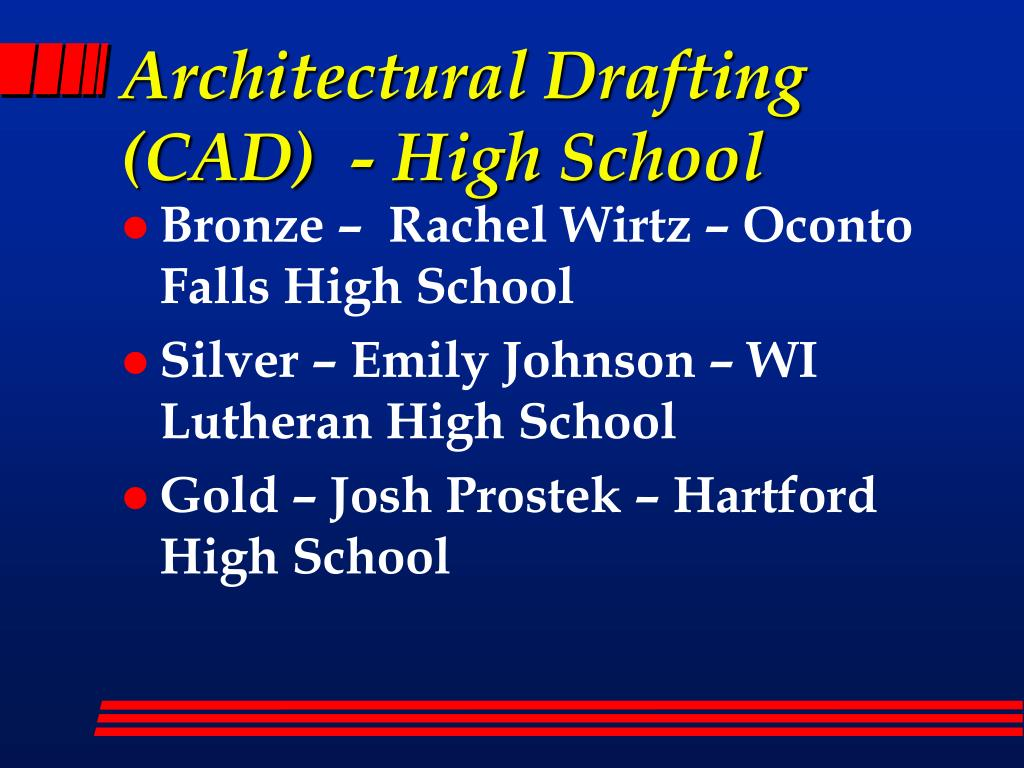 Architectural Drafting (CAD)  - High School