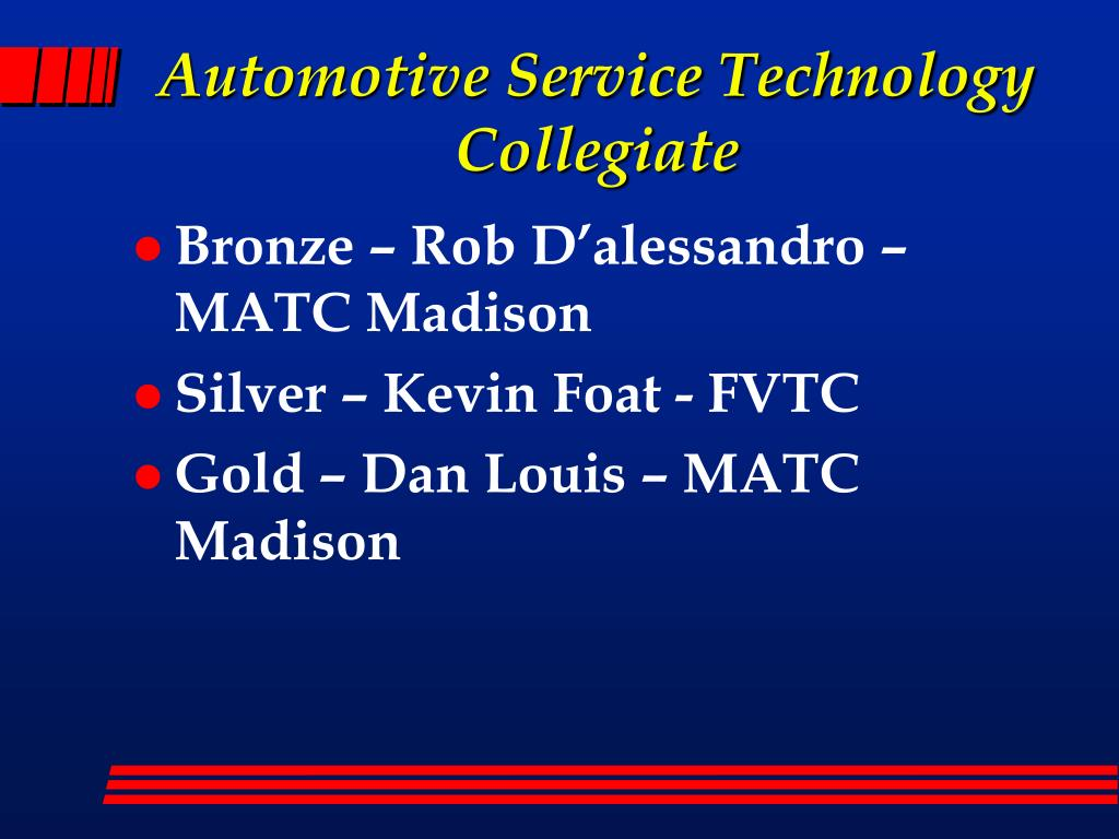 Automotive Service Technology Collegiate