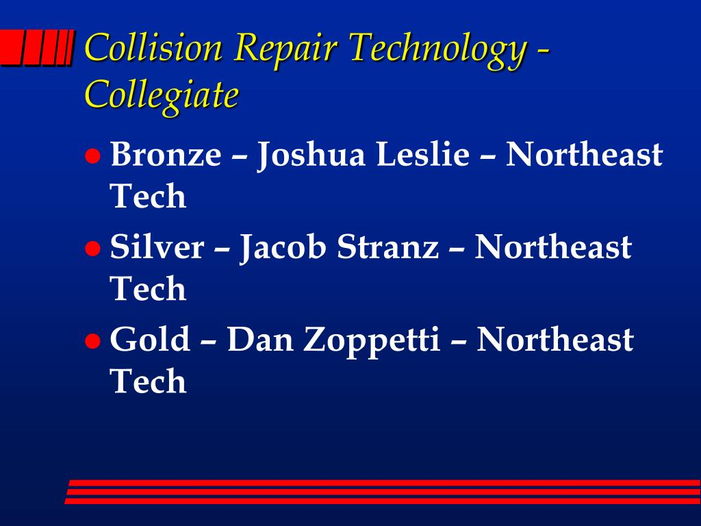 Collision Repair Technology - Collegiate