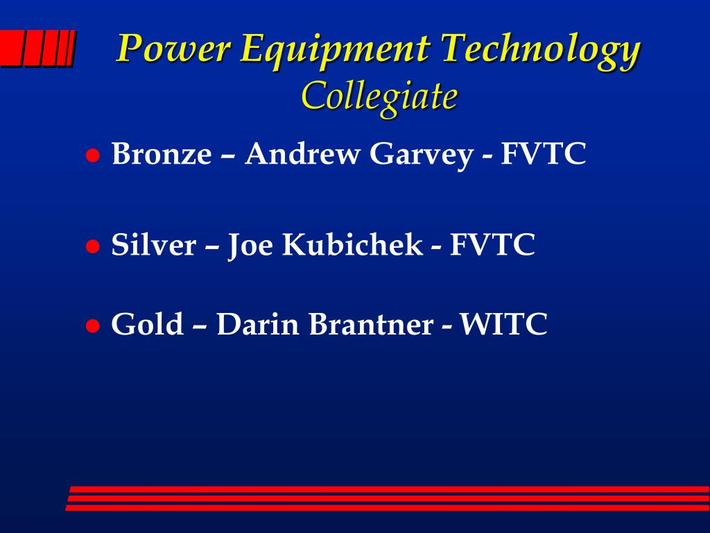 Power Equipment Technology