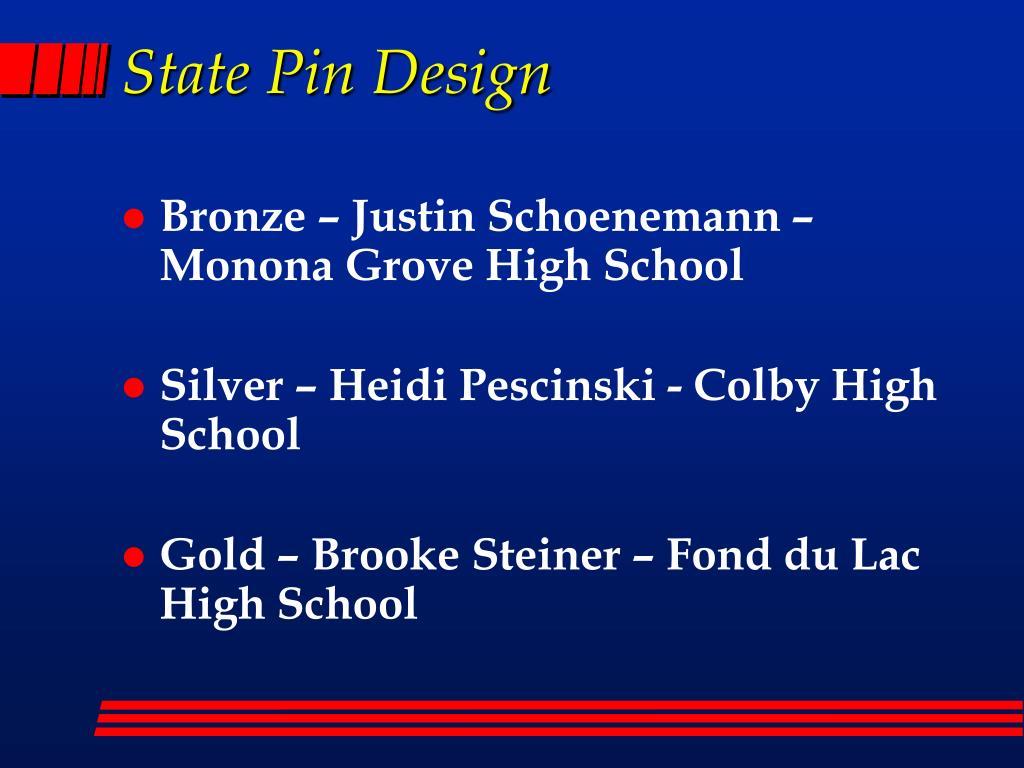 State Pin Design