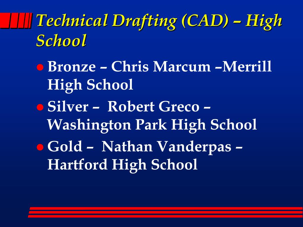 Technical Drafting (CAD) – High School
