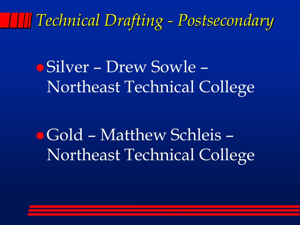 Technical Drafting - Postsecondary