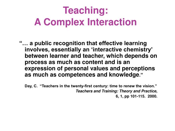 Teaching: