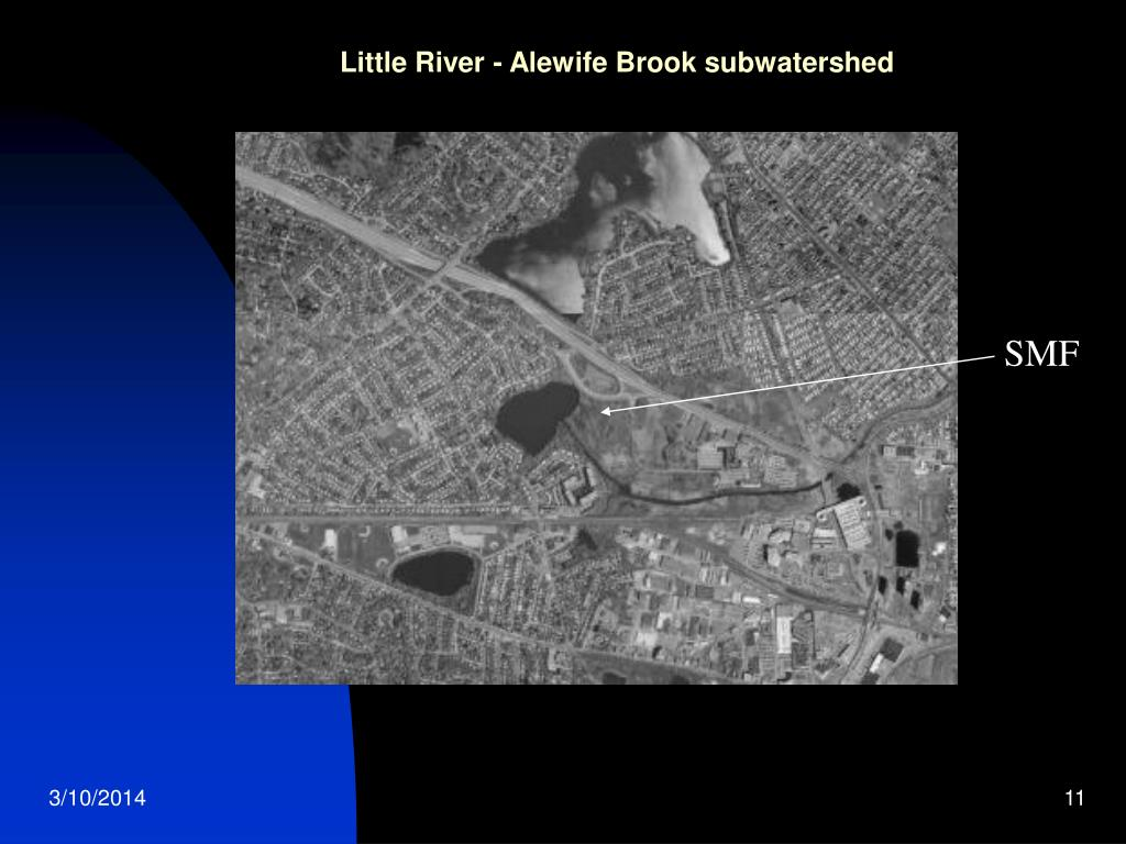 Little River - Alewife Brook subwatershed