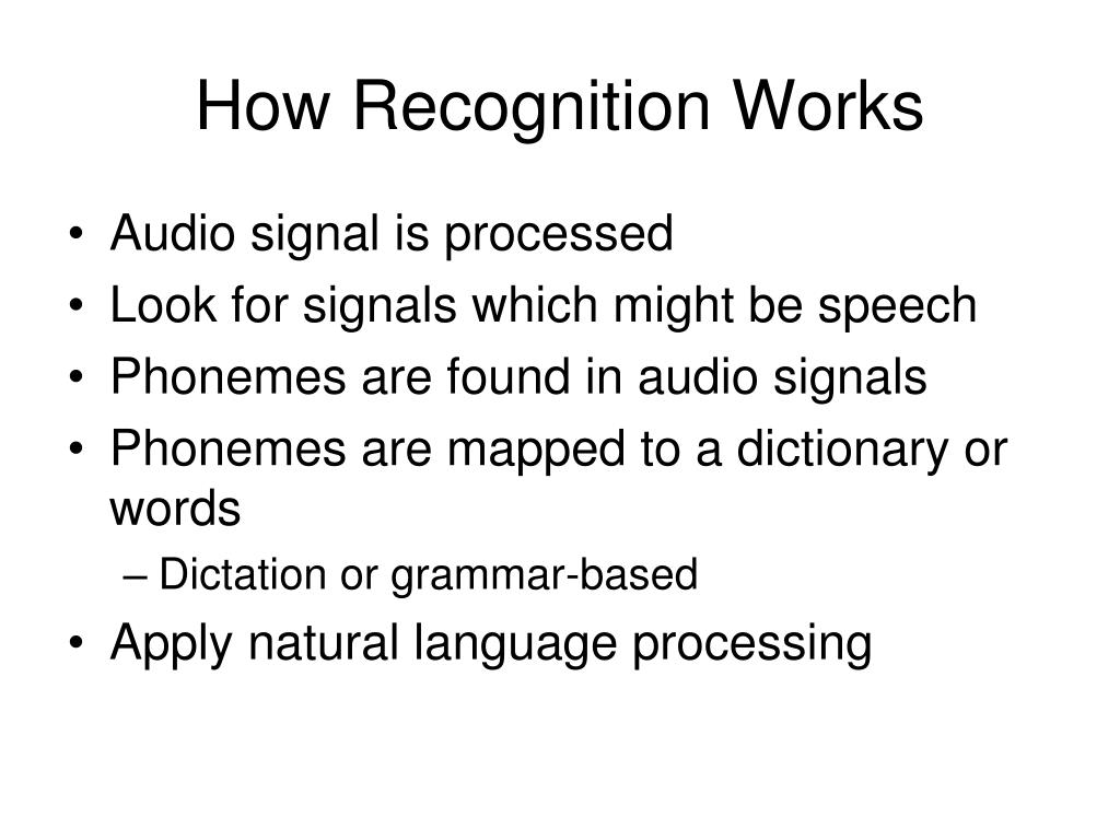 Audio signal is processed