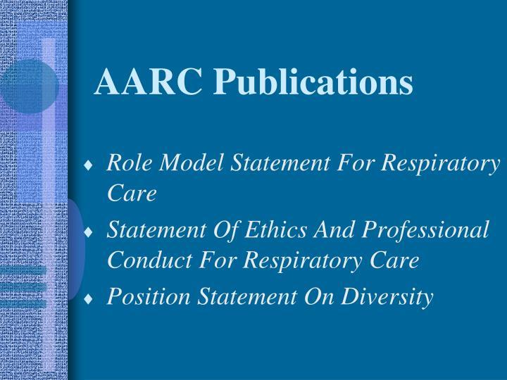 AARC Publications