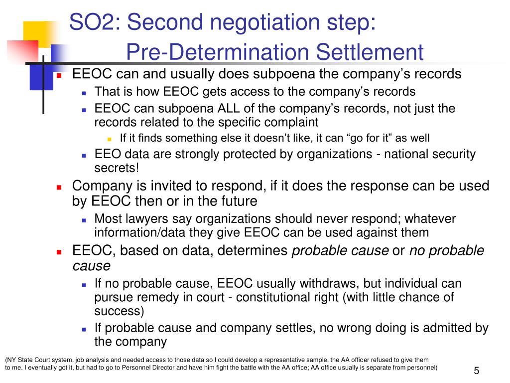 SO2: Second negotiation step: