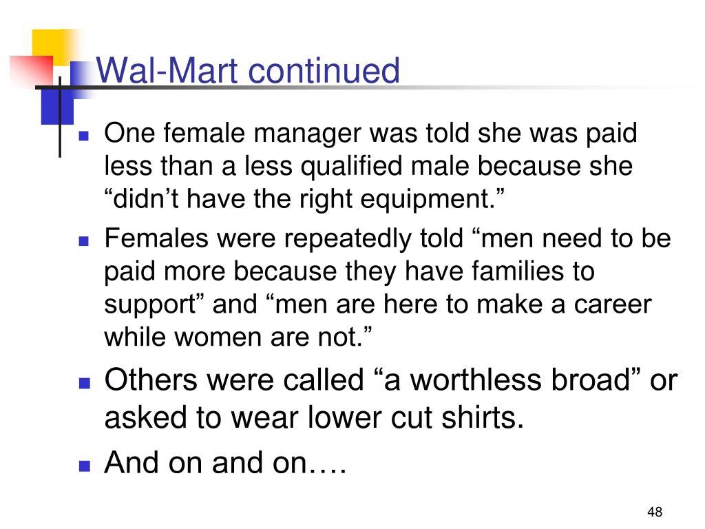 Wal-Mart continued