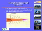 tacrom introduction acid fracs1